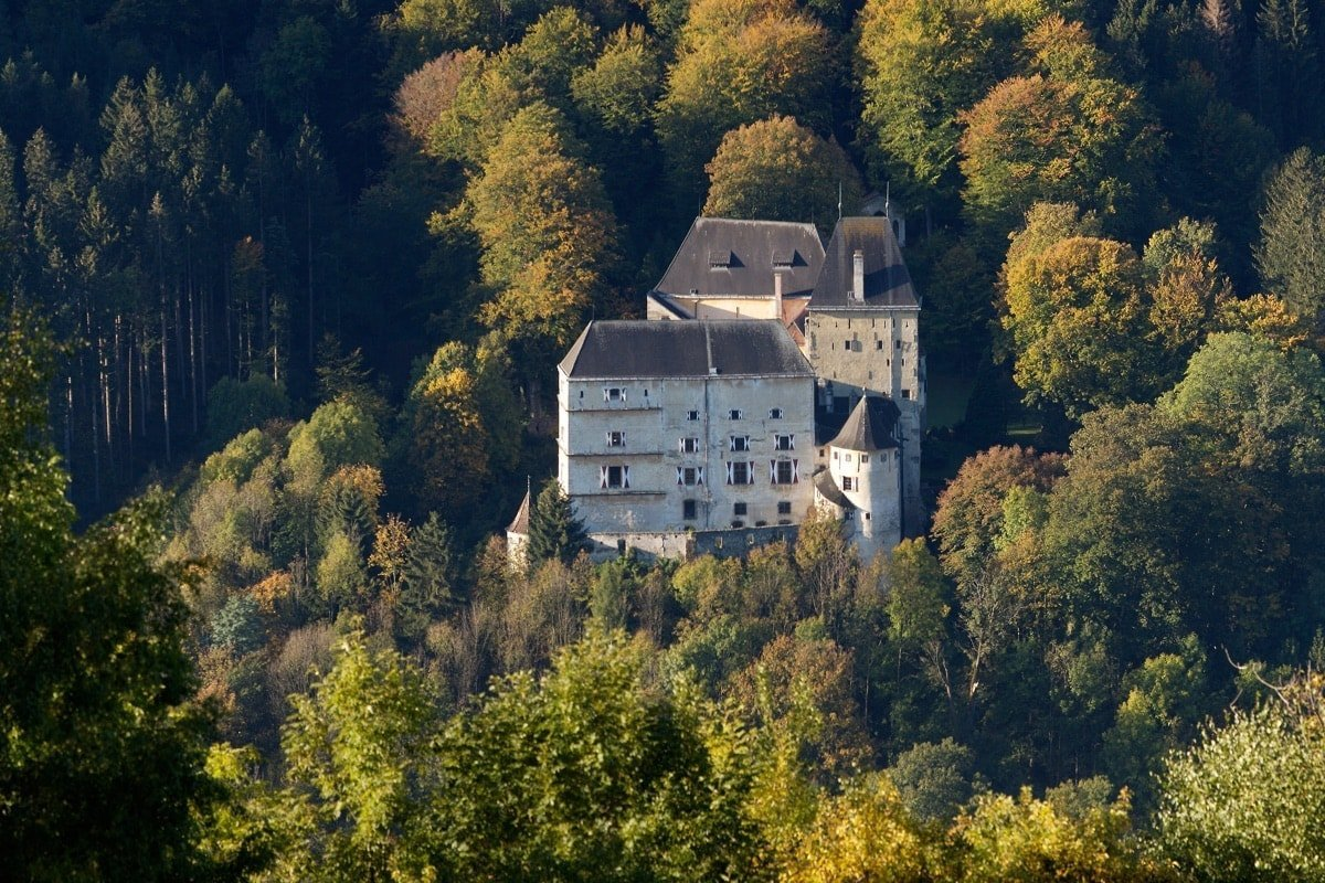 Burg Feistritz Austria - Castle Feistritz am Wechsel