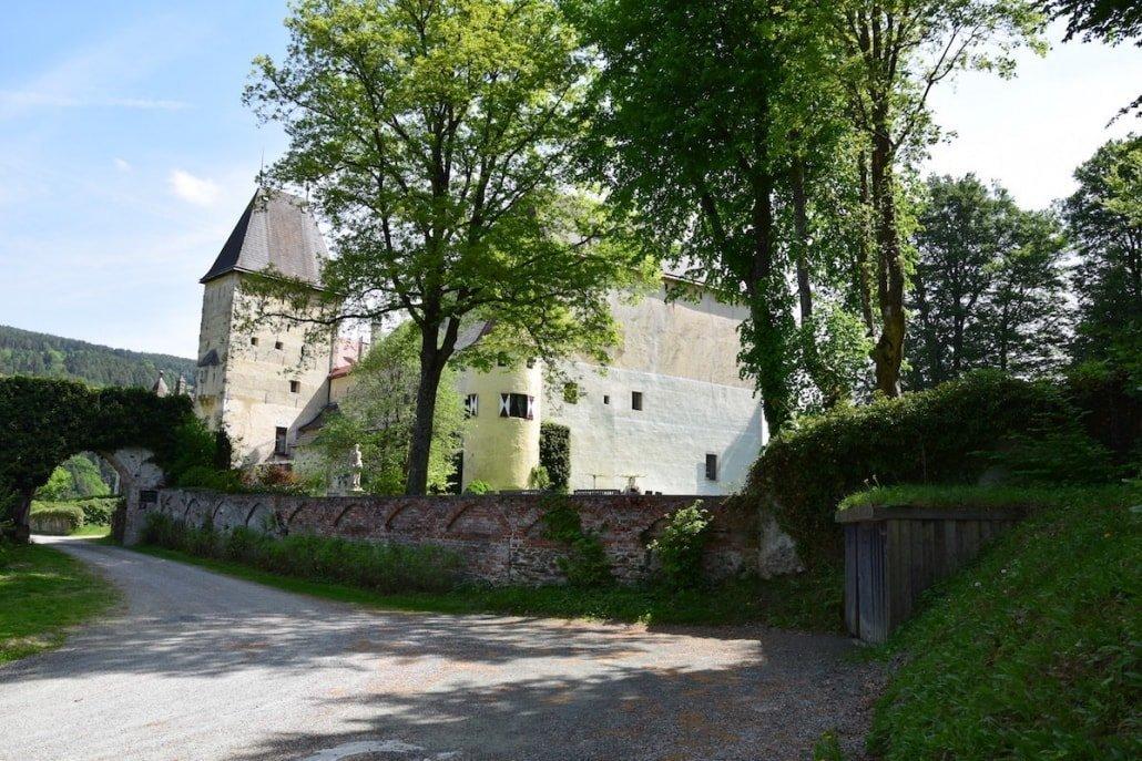 Burg Feistritz Austria - Castle Park Garden