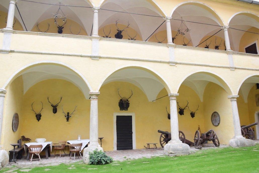 Burg Feistritz Austria – Courtyard Garden