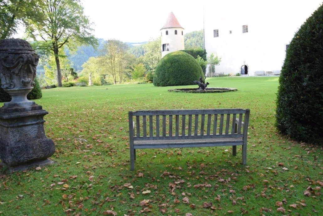 Burg Feistritz Garden Detail