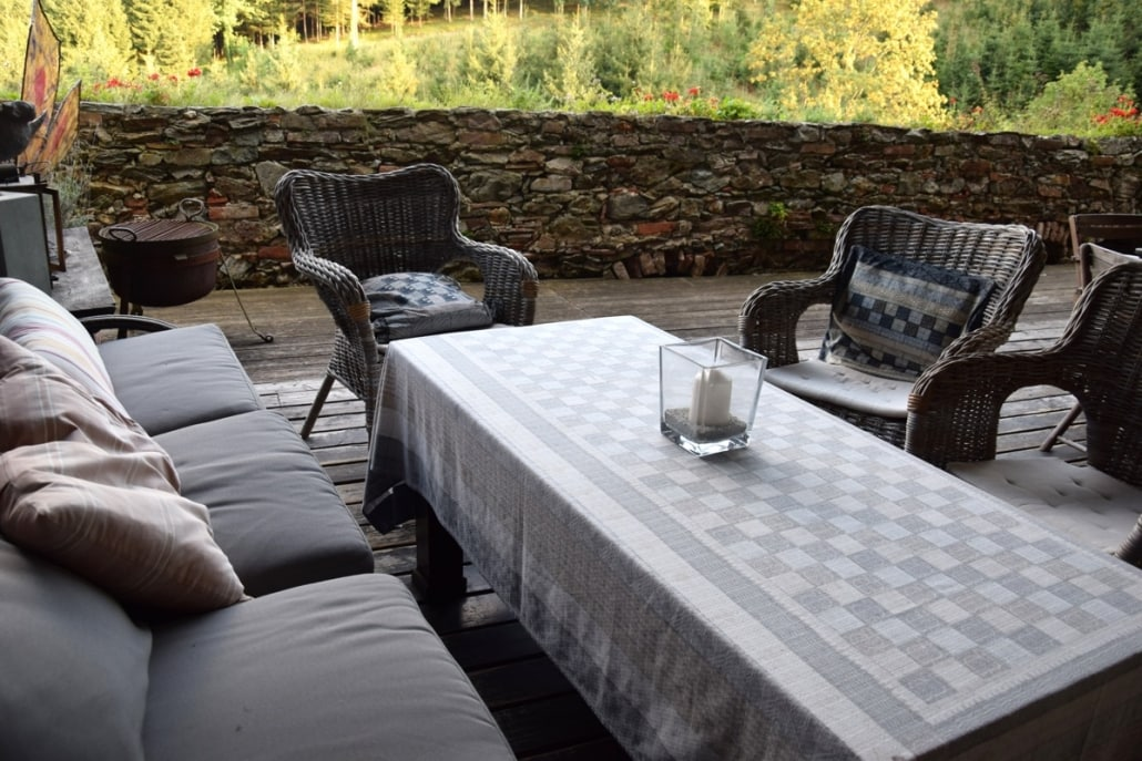 Burg Feistritz Austria – Sitting Area Outdoor