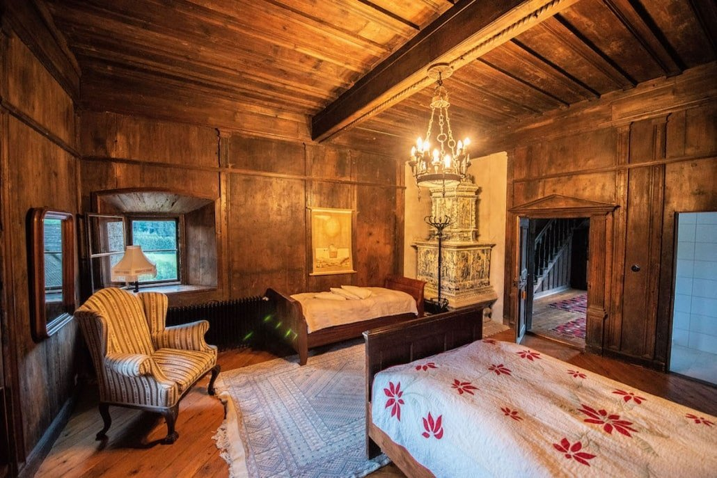 Burg Feistritz Austria – Sleeping Room
