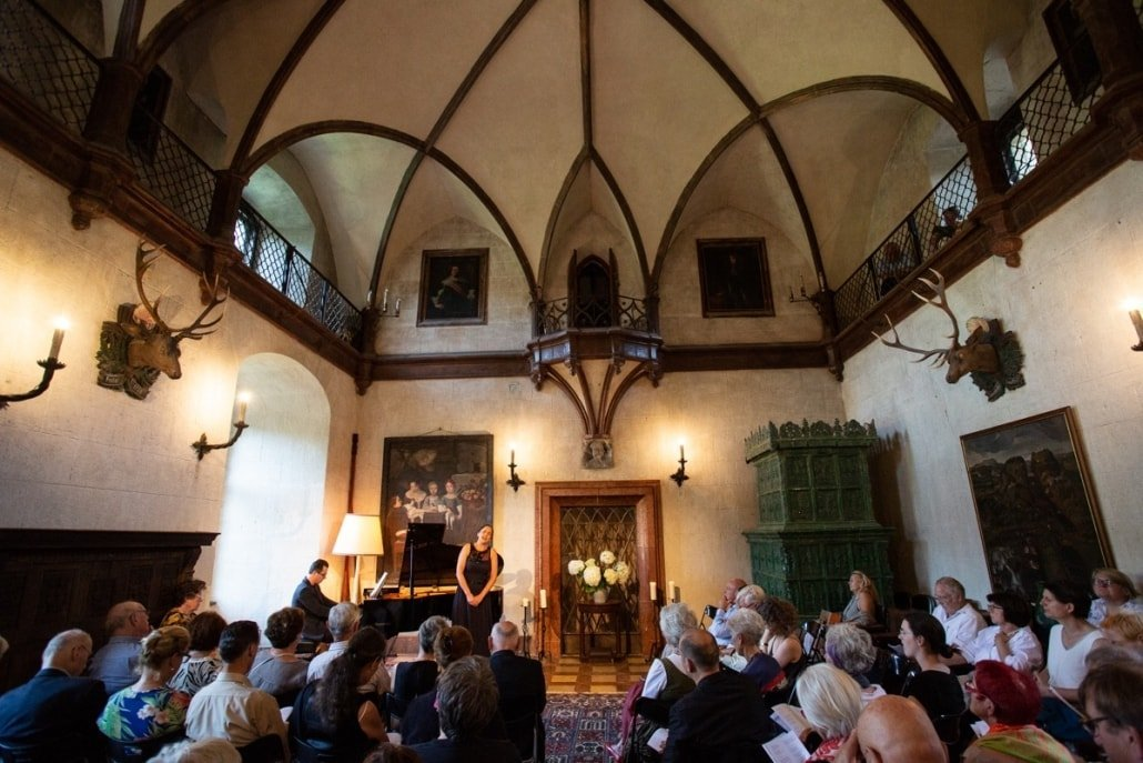 Burg Feistritz Austria - Harriet & Friends Concert Knight Hall
