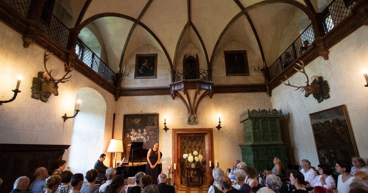 Burg Feistritz Austria - Harriet & Friends Concert Knight Hall