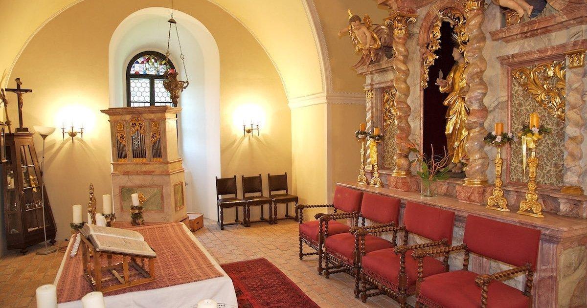 Burg Feistritz Austria – Wedding Church