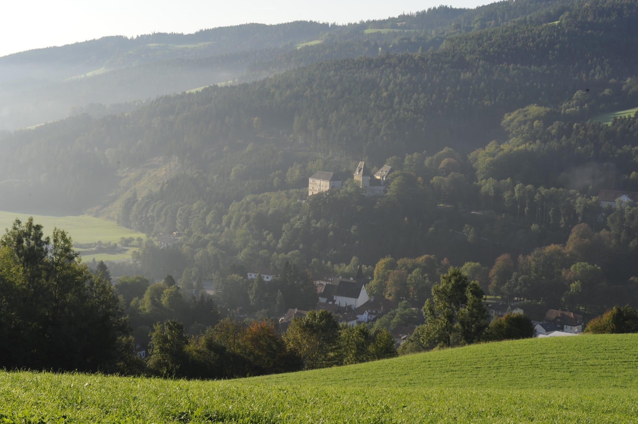 Burg Feistritz Austria – Front of Castle